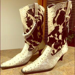 Shoes - Ladies reptile cowboy boots